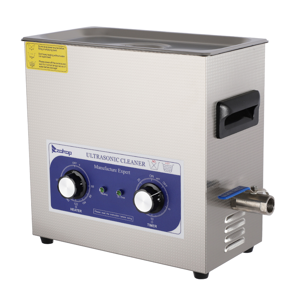 Details about 6L Sonic Dental Lab Use Ultrasonic Cleaner User friendly Long  Cycle Life